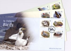 Birds Definitive FDC x 3