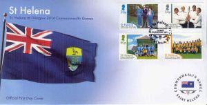 Commonwealth Games 4v FDC