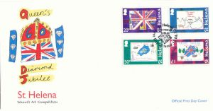 Diamond Jubilee 4v FDC