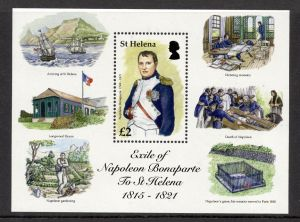 Exile of Napoleon to St Helena