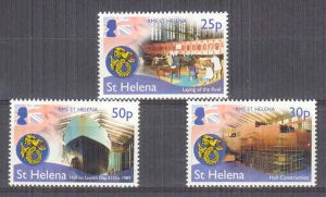 25 Yrs of RMS St Helena 3v