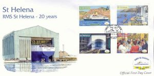 Royal Mail Ship 2010 4v FDC