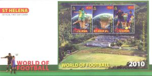 World of Football S/S FDC