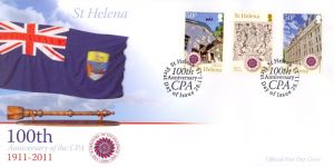 100th Ann. C.P.A. 3v FDC