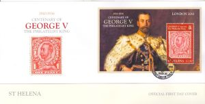 George V/London 2010 S/S FDC
