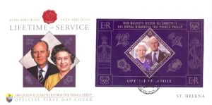 Lifetime of Service S/S FDC